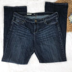 Kut from the Kloth Karen Baby Bootcut Jeans 16
